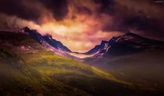 - Sognefjellet - (Jorge Falck Photography) Tags: sognefjell jotunheimennasjonalpark jorgefalckphotography jotunheimen sogn og fjordene norway norwegianlandscapes ngc norsknatur norsklandskap norwegianlandscape norwegian clouds canon6d countrysidelandscape canonphotography canonef1740mmf4l canon dramaticlandscape dramatic cinematiclandscape cinematic sunlight sundown sunset snow sky hazylandscape hiking hdr haze hdrtonet postcardlandscape pop fog fairytale fairytalelandscape forrest