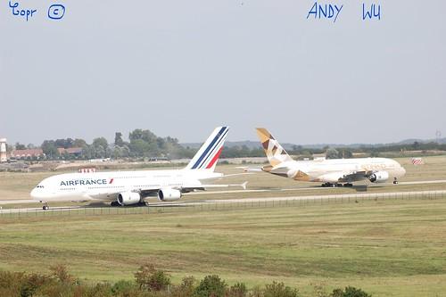 Airbus A380 Air France (08/27/2019)