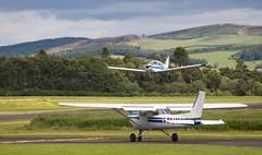 G-BXJM Cessna 152, Scone (wwshack) Tags: acsflighttraining ce152 cessna cessna152 egpt psl perth perthkinross perthairport perthshire scone sconeairport scotland gbxjm