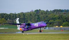 G-JEDT Dash 8, Edinburgh (wwshack) Tags: bombardier dhc8 dash8 edi egph edinburgh edinburghairport flybe scotland turnhouse gjedt