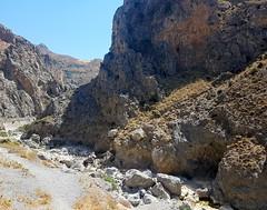 Kourtaliotis gorge (Ioannis Ks) Tags: mountains rocks river gorge sky crete nature