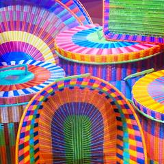 a-tisket a-tasket  ♪ ♫ (msdonnalee) Tags: basket handwovenbaskets mexicanfolkart méxico mexique mexiko messico photosfromsanmigueldeallende photosbydonnacleveland