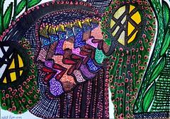 Desde Israel dibujo expresivo artista judia desde Israel (female artwork) Tags: israeli museo realismo canvas figurativo artistico contemporaneo detalles mandala autoretrato dibujos puntos ornamento colores pintora retrato arte escultura detallista figura multicolor moderno coleccion venta ornamental etnicos israel israelita judia cuadro artista galeria dibujo obra zentangle puntillista puntillismo acrilico tono simbolos relieve art outsider latina vanguarda alternativo plastico pintores pintor pincel exhibir exhibicion externo mirit bennun madera people photoadd mujer original femenina etnica moderna contemporanea autentico intuitivo expresivo decorativo
