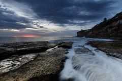 Dee Why rock shelf || Sydney (David Marriott - Sydney) Tags: sydney newsouthwales australia dee why rock shelf rockshelf nsw water wave sunrise dawn sea ocean long exposure