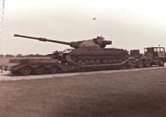 """""""Duxford (smith.rodney74) Tags: union flag clearssky hce343n tracks gunbarrel"""