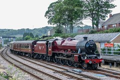'GALATEA 45699' - SCARBOROUGH SPA EXPRESS' (tonyfletcher) Tags: scarboroughspaexpress galatea 45699 lmsjubileeclass steamlocomotive tonyfletcher wwwtonyfletcherphotographycouk wwwwhitbygothscenecouk