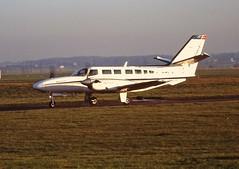 G-DFLT Cessna 406 Caravan II Directflight CVT 03-01-95 (cvtperson) Tags: gdflt cessna 406 caravan ii directflight coventry airport cvt egbe