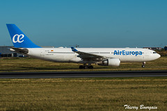 [ORY] AirEuropa Airbus A330-200 _ EC-KTG (thibou1) Tags: thierrybourgain ory lfpo orly spotting aircraft airplane nikon d810 tamron sigma aireuropa a330 a330202 airbus airbusa330 ecktg taxiing madrid