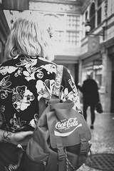 Coke.cola (diannerobbins1) Tags: streetphotography fujifilm blackandwhitephotography cokeacola x100f fujix100f cocacola