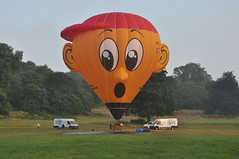 Swiss special shape (Tom_bal) Tags: nikon d90 switzerland hot air balloon flying aviation bristol