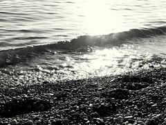 Следы / Footprints (Владимир-61) Tags: осень сентябрь природа берег море вода солнце прибой autumn september nature shore sea water sun wave nikon coolpix p600 natureinfocusgroup