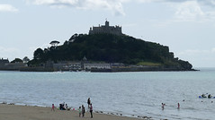 D22252.  St Michael's Mount. (Ron Fisher) Tags: stmichaelsmount marazion cornwall westcountry westofengland england europe europa gb greatbritain uk unitedkingdom island sea seaside coast water wasser panasonic panasoniclumixfz1000 fz1000 sky clouds