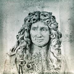 Portret (Pieter Musterd) Tags: beeld kop hoofd buste steen stone kunst art pietermusterd musterd canon pmusterdziggonl nederland holland nl canon5dmarkii canon5d sculpture