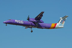 G-JEDU 23/08/19 Heathrow (EGLL) (Lowflyer1948) Tags: gjedu dhc8402 230819 heathrow myrtleavenue flybe