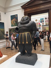 The Scarred one  at the Royal Academy Summer show in London