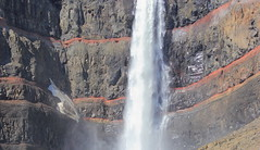 Hengifoss, Upclose and Personal (Eye of Brice Retailleau) Tags: photographe no filter francais parisien adventure parisian photographer travel traveler photography photographie french voyage visit voyageur angle home tour brice retailleau quintessence de voisinage bright website backpack life backpacker beauty best composition perspective pure light colorful colourful couleurs scenic trip du monde around world earth wonderful beautiful gorgeous amazing journey destination tourisme tourism backpacking texture pattern lines macro close up colors colours couleur nature natural rock formation waterfall cascade arctic iceland islande hengifoss water stream