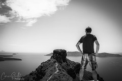 Volcano view (corineouellet) Tags: composition nature landscape hdr portrait view travel grece greece santorini volcano monochromatic monochrome noiretblanc blackandwhite bnw