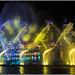 Southbank Lazer light show in dark-03=