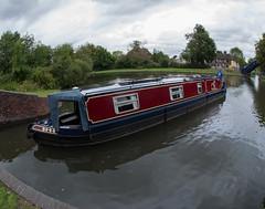 Narrow Boat. (marlin.357) Tags: narrowboat justwilliam barge canal water d600 aldermastonwharf kennetandavon