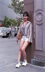 7xi-0830-034 (stephen sherman) Tags: film fujisuperia400 minolta7xl streetstyle newyorkcity manhattan asiangirl eastvillage astorplace