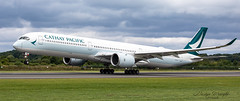 Cathay Pacific Airbus A350-900 (Ratters1968: Thanks for the Views and Favs:)) Tags: flight flying fleugzeug aeroplane plane aeronautics aircraft avions aviation avioes aeronef transport airplane air jet canon5dmkiv martynwraight ratters1968 canon dslr photography digital eos manchester ringway manchesterringwayairport airport international civilaviation passengerairliner airliner pax passenger airbus industries airbusindustries toulouse filton broughton groupementdintérêtéconomique gie a350 airbusa350900 a350900 cathay pacific cathaypacific china hongkong