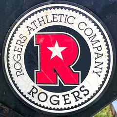 ROGERS (Timothy Valentine) Tags: sticker large equipment 2019 0819 squaredcircle eastbridgewater massachusetts unitedstatesofamerica