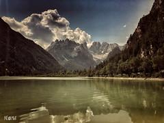 Lago di Landro (iw2ijz) Tags: lago di alto adige italia italy bolzano lake iphone x apple landscape montagna valle trentino landro