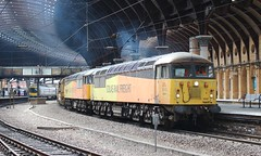 56087 & 56049 York (GingerPhots) Tags: 56087 56049