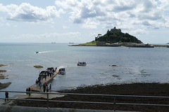 D22255.  St. Michael's Mount. (Ron Fisher) Tags: stmichaelsmount marazion cornwall westcountry westofengland england europe europa gb greatbritain uk unitedkingdom island sea seaside coast water wasser panasonic panasoniclumixfz1000 fz1000 sky clouds