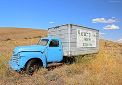 You're in Wheat Country - Washington State (Electric Crayon) Tags: abandoned truck rust rusty old decay chevrolet chevy pacificnorthwest washingtonstate adamscounty usa unitedstates america rural outdoors summer roadtrip electriccrayon patrickmcmanus
