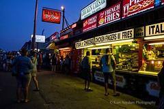 Blink's - Hampton Beach (Kurtsview) Tags: newengland newhampshire hamptonbeach seacoast boardwalk people food vendors summer evening
