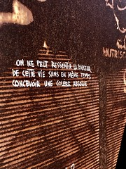 IMG_0916 (Abode of Chaos) Tags: graffitis humanities writings écrits affiches détournements posters artisticalterations thierryehrmann 999 abodeofchaos chaos lespritdelasalamandre salamanderspirit demeureduchaos ddc groupeserveur taz organmuseum servergroup facteurcheval palaisideal sanctuaire sanctuary artprice saintromainaumontdor portrait painting peinture france museum sculpture architecture maisondartiste art artistshouses streetart sculpturemoderne modernsculpture secret alchimie alchemy landart artbrut artsingulier rawart symbol 911 contemporaryart apocalypse postapocalyptique cyberpunk graffiti vanitas ruins prophecy prophétie container dadaisme outsiderart mystery