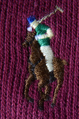 Polo Ralph Lauren Jumper Logo (Matt-Stokes) Tags: macro nikon d7000 polo ralph luaren logo pony horse threads stitching