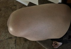 IMG_1455 (guythigh) Tags: knees thighs tease sexy smooth shiny shapely shine squat