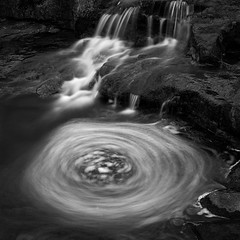 Fluid Water No. 55 www.ColeThompsonPhotography.com (Cole Thompson) Tags: motion waterfall water dark longexposure noiretblanc noir monochromatic monochrome mono bnw bw colethompsonphoto cole fineart photoart artphoto artwork art