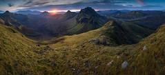 Highlands of Iceland! (sven483) Tags: iceland panorama highlands laugavegur landmannalaugar porsmork sunset landscape