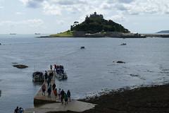 D22256.  St. Michael's Mount. (Ron Fisher) Tags: stmichaelsmount marazion cornwall westcountry westofengland england europe europa gb greatbritain uk unitedkingdom island sea seaside coast water wasser panasonic panasoniclumixfz1000 fz1000 sky clouds