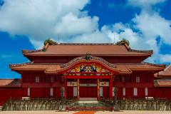 Shurijo (kimtosh11) Tags: okinawa summer sky nikon d7100 red castle traditional culture worldheritage worldsculturalheritage 世界遺産 首里城 沖縄