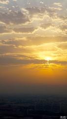 Dramatic Sunrise over Urbania (soumikbi) Tags: sunrise morning dubai uae jlt jumeirahlakestowers dramatic sky clouds city cityscape urban cloudscape nature beautyinnature naturephotograph naturepics spotlighteffect