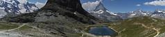 Riffelsee pano (ivoräber) Tags: panorama riffelsee lake matterhorn zermatt sony switzerland systemkamera swiss schweiz suisse
