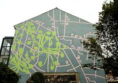 Wallpainting in Horsens (cats_in_blue) Tags: wallpainting horsens vægmaleri gavlmaleri streetart