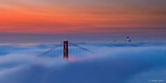 Twilight (Joseph Greco) Tags: sanfrancisco goldengatebridge fog twilight dawn skyscrapers cityscape landscape sky marinmagazine