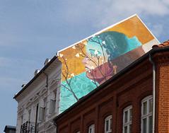 Wallpainting in Horsens (cats_in_blue) Tags: malakkai horsens wallpainting streetart gavlmaleri vægmaeri