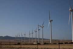 On the road (gissell escalante) Tags: andalucia españa ontheroad eolica energia repeticiones ecologico campo