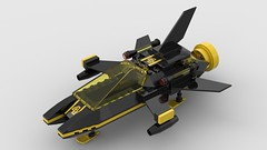 Blacktron Craft mk2 (Constender) Tags: lego moc classic space blacktron spaceship fighter
