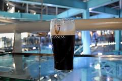 Guinness Pint (Piedmont Fossil) Tags: dublin ireland guinness stjamessgate brewery gravity bar pint glass stout beer