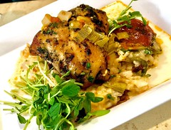 (cafe_services_inc) Tags: cafeservicesinc corporatedining citypoint guestchef polenta risotto plate chickenrisotto