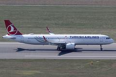 THY - Turkish Airlines Airbus 321-271NX TC-LSF (c/n 8740) (Manfred Saitz) Tags: vienna airport vie loww schwechat flughafen wien thy turkish airlines airbus 321 neo a21n tclsf tcreg