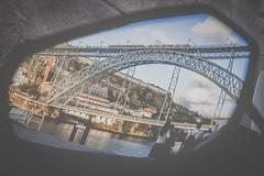 Un espejo {tesoro 9} (☼ Mrs ☼) Tags: oporto portugal puente espejo retrovisor labúsquedadeltesoro