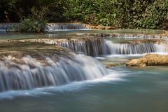 Laos – Kuang Si Falls (Thomas Mulchi) Tags: kuangsifalls laos luangprabang kuangxi tatkuangsiwaterfalls waterfall waterfalls 2019 water forest tree trees pool waterpool river hill banmuangkhay luangprabangprovince